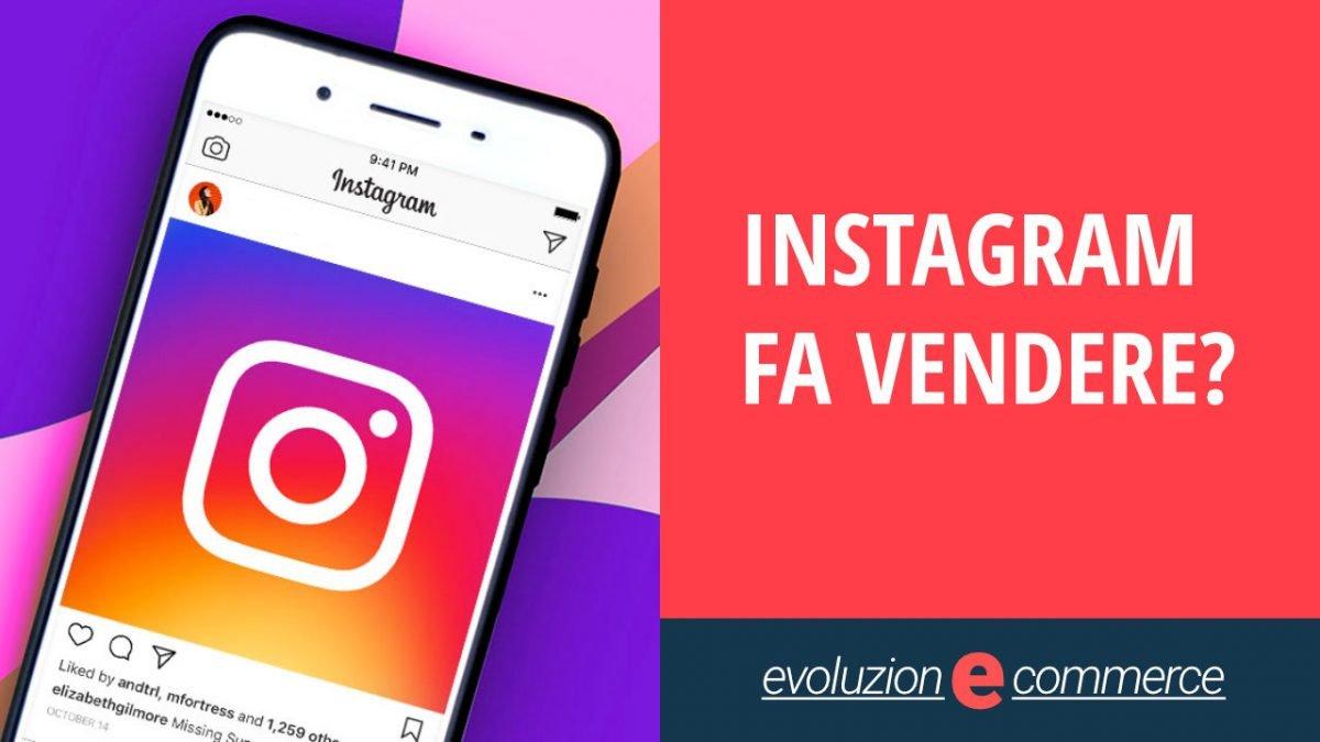 instagram vendite ecommerce